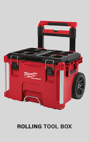 Rolling Tool Box from Fasteners Inc. | Authorized Distributor of  Milwaukee Tool